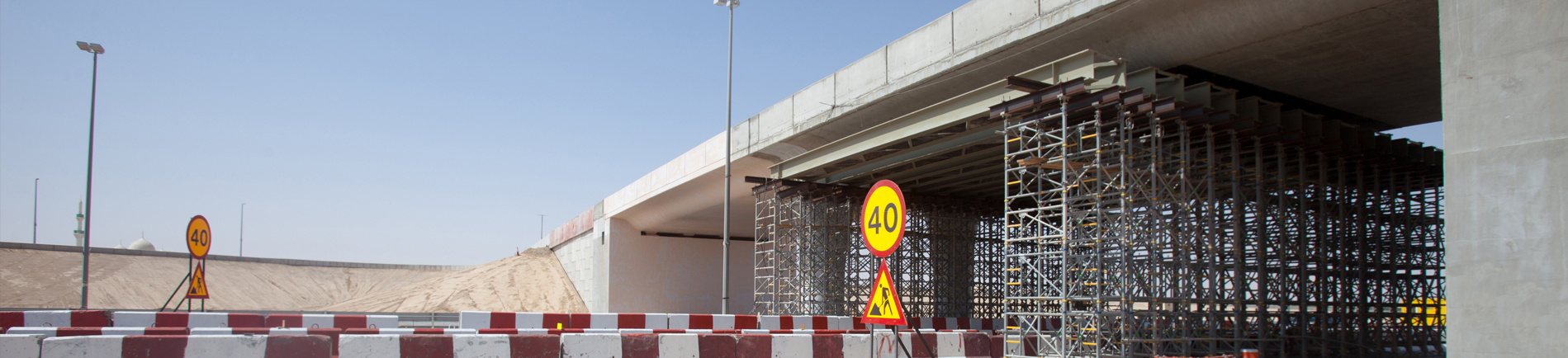 Construction of Bridge and Underpass at Nahil (E20 Road)