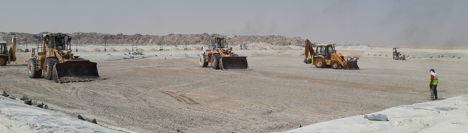 Abu Dhabi Landfill Liquid and Solid Hazardous Waste Cells