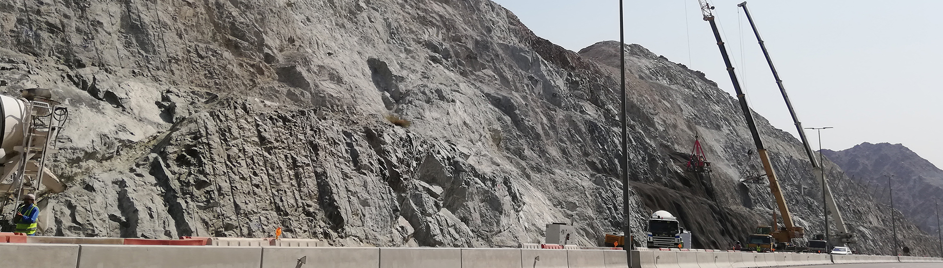Treatment, Protection & Rock Stabilization of Yabsa Bypass Road