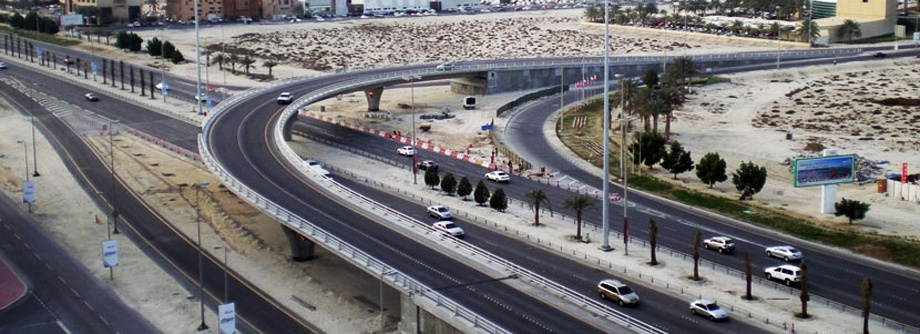 Construction of Bahrain City Center Interchange