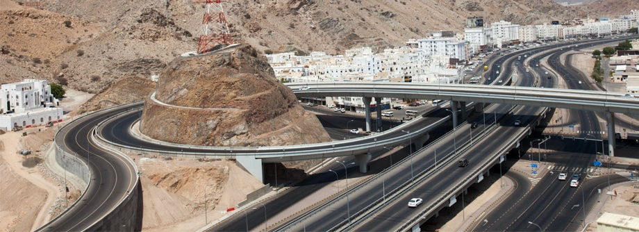 Construction of Wadi Adai Interchange