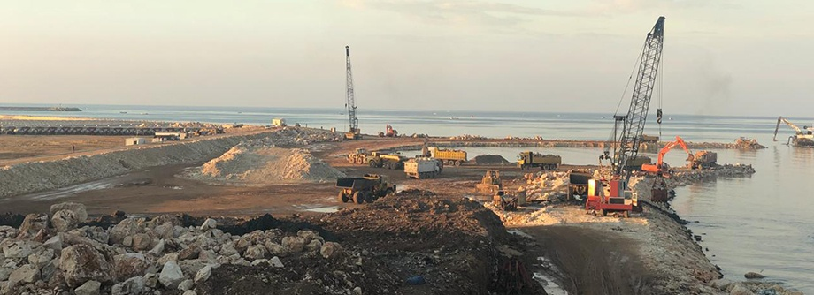 THE EXTENSION INTO A NEW TEMPORARY LANDFILL IN TRIPOLI CITY