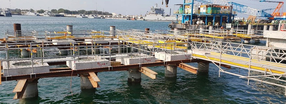 D&C of Breakwater and Cargo Pier Repairs at Kuwait Naval Base