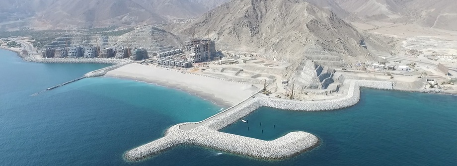 The Address Fujairah Resort & Spa: Beach House - Enabling Works