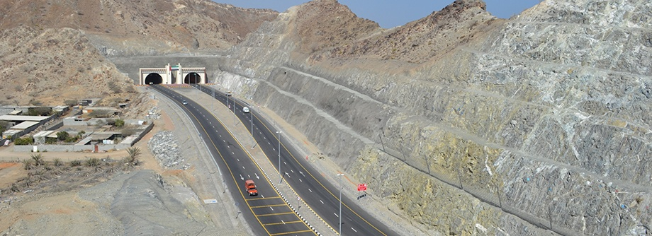 Construction of Dibba-Khorfakkan Ring Road