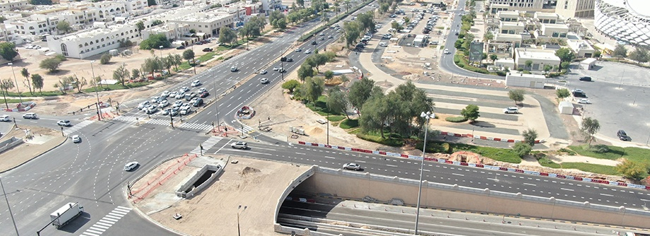 Al Ain Stadium Traffic Movement Improvement