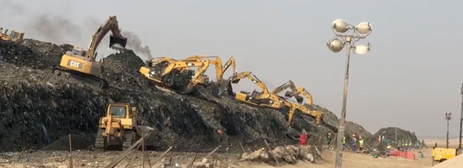 EPIC for Landfill Closure at Mesaieed
